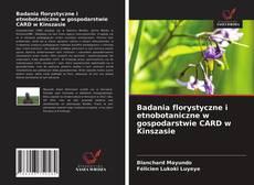Copertina di Badania florystyczne i etnobotaniczne w gospodarstwie CARD w Kinszasie
