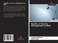 Обложка Quality of Service Management in NGN