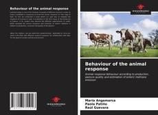Portada del libro de Behaviour of the animal response