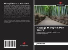 Massage Therapy in Pain Control kitap kapağı
