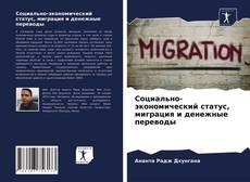 Buchcover von Социально-экономический статус, миграция и денежные переводы