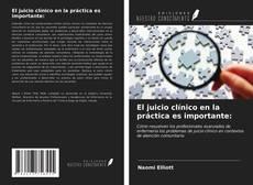El juicio clínico en la práctica es importante: kitap kapağı