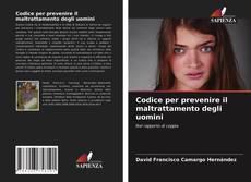 Capa do livro de Codice per prevenire il maltrattamento degli uomini