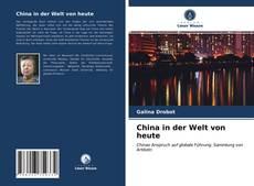 Borítókép a  China in der Welt von heute - hoz