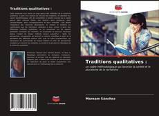Обложка Traditions qualitatives :
