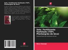 Couverture de Solo. Fertilizante fosfatado (TSP). Planta(grão de bico)