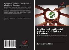 Buchcover von Implikacje i możliwości związane z globalnym klimatem
