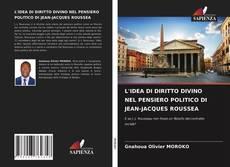 Capa do livro de L'IDEA DI DIRITTO DIVINO NEL PENSIERO POLITICO DI JEAN-JACQUES ROUSSEA