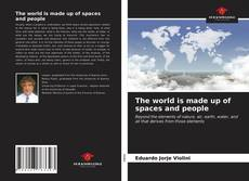 Bookcover of The world is made up of spaces and people