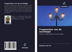 Capa do livro de Fragmenten van de sociologie