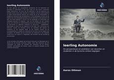 Buchcover von leerling Autonomie