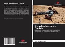 Illegal emigration in Tunisia kitap kapağı
