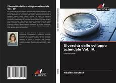 Buchcover von Diversità dello sviluppo aziendale Vol. IV.