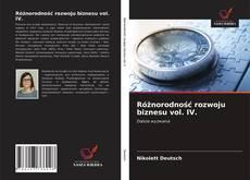 Buchcover von Różnorodność rozwoju biznesu vol. IV.