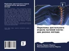 Bookcover of Переломы дистального отдела лучевой кости: два разных метода