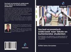 Borítókép a  Sociaal-economisch onderzoek naar lokale en buitenlandse studenten - hoz