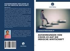 Buchcover von AUSWIRKUNGEN VON COVID-19 AUF DIE INDISCHE WIRTSCHAFT
