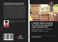 Copertina di L'effetto delle tecniche di analisi dei paragrafi sugli studenti EFL