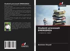 Copertina di Studenti processati EMERGENZA