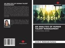 Capa do livro de AN ANALYSIS OF HUMAN TALENT MANAGEMENT