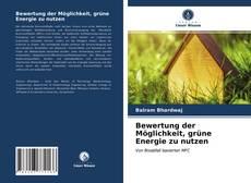 Portada del libro de Bewertung der Möglichkeit, grüne Energie zu nutzen