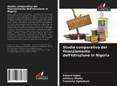 Copertina di Studio comparativo del finanziamento dell'istruzione in Nigeria