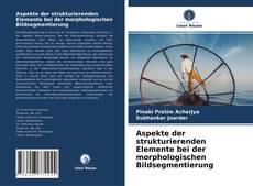 Capa do livro de Aspekte der strukturierenden Elemente bei der morphologischen Bildsegmentierung