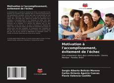 Portada del libro de Motivation à l'accomplissement, évitement de l'échec