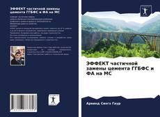 ЭФФЕКТ частичной замены цемента ГГБФС и ФА на МС kitap kapağı