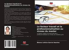 Portada del libro de Le facteur travail et la professionnalisation au niveau du master