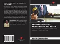 Bookcover of CROSS-BORDER CRIME BETWEEN BENIN AND NIGERIA :