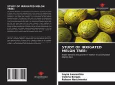 Capa do livro de STUDY OF IRRIGATED MELON TREE: