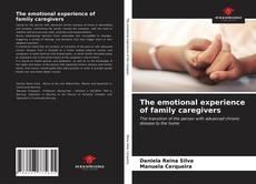 Capa do livro de The emotional experience of family caregivers