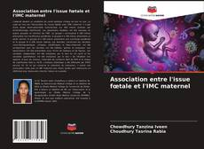 Portada del libro de Association entre l'issue fœtale et l'IMC maternel