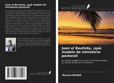 Portada del libro de Juan el Bautista, ¡qué modelo de ministerio pastoral!