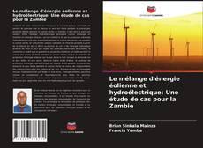 Обложка Le mélange d'énergie éolienne et hydroélectrique: Une étude de cas pour la Zambie