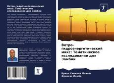 Обложка Ветро-гидроэнергетический микс: Тематическое исследование для Замбии