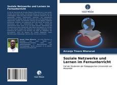 Bookcover of Soziale Netzwerke und Lernen im Fernunterricht