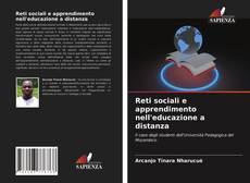 Copertina di Reti sociali e apprendimento nell'educazione a distanza