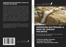 Bookcover of HORMIGÓN BACTERIANO A BASE DE CENIZAS VOLANTES