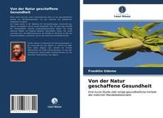 Portada del libro de Von der Natur geschaffene Gesundheit