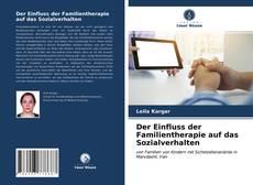 Portada del libro de Der Einfluss der Familientherapie auf das Sozialverhalten