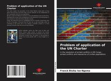 Bookcover of Problem of application of the UN Charter