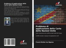Bookcover of Problema di applicazione della Carta delle Nazioni Unite