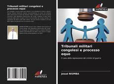 Bookcover of Tribunali militari congolesi e processo equo