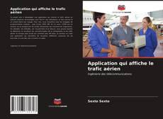 Обложка Application qui affiche le trafic aérien