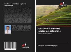 Buchcover von Gestione aziendale agricola sostenibile