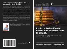 Buchcover von La financiarización del derecho de sociedades de la OHADA