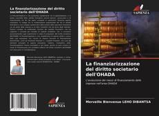 Buchcover von La finanziarizzazione del diritto societario dell'OHADA