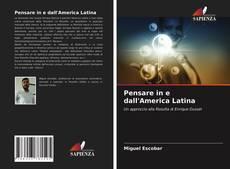 Pensare in e dall'America Latina kitap kapağı